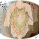 Recycled - Vintage Hanky - Halter Top - Little Girls