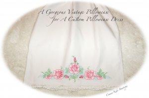 Tara - Pillowcase Dress - Vintage - Little Girls - Sun Dress - Beach Dress