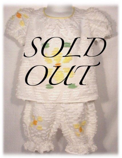 OopsieDaisy - Vintage Chennile Set - Baby - Infant - Toddler - Little Girls Clothing
