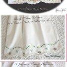 Reserved for Katharine Welder - Three Custom Vintage Pillowcase Dresses
