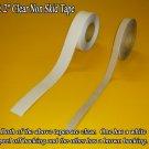 """1"""" x 60' Clear Non Skid / Non Slip Tread Tape"""