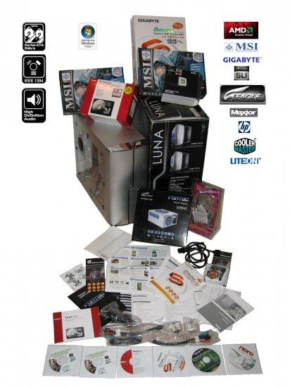 Nvidia SLI Gaming Computer w/ Athlon 64X2 Black Edition