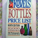 Bottles Price List Kovels 9th Edition 1992