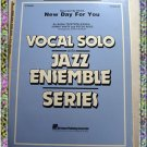 New Day For You Vocal Solo With Jazz Ensemble Sheet Music