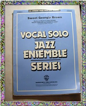 Sweet Georgia Brown Vocal Solo With Jazz Ensemble Sheet Music