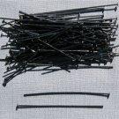 Gunmetal (Black) Headpins