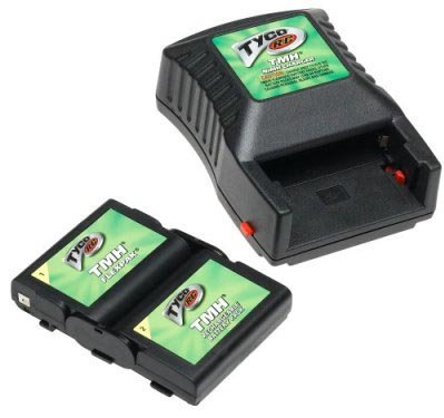 Tyco RC Vehicles TMH Flexpak Battery & Charger New Sealed hard to find