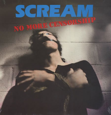 SCREAM - No More Censorship LP 1988 DC Punk SEALED BRAND NEW DAVE GROHL FOO FIGHTERS NIRVANA PROBOT