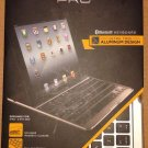 ZAGG Keys ZAGGKeys PRO Apple iPad 2/3/4 Aluminum Keyboard Case Stand NEW THIN FREE SHIPPING