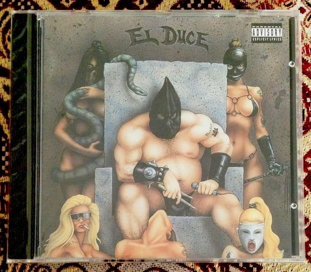 EL DUCE - Slave To Thy Master CD SEALED 1st Press Red Light Records 1993 MENTORS