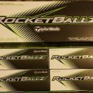 TaylorMade Rocketballz Golf Balls 12 balls per box NEW Taylor Made FREE SHIPPING