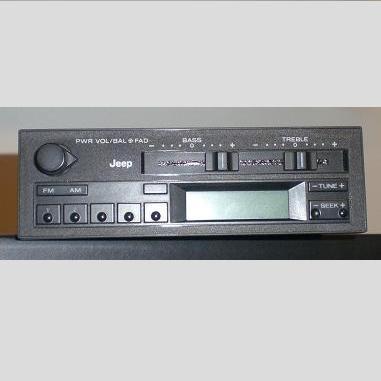 1996 Jeep Cherokee AM FM Clock Radio