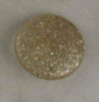 Lucite Flat Dome Glitter VINTAGE BUTTON 1-3/8 Inch