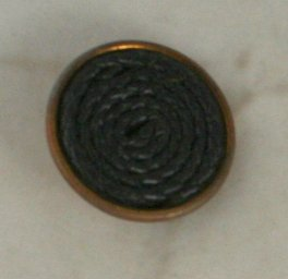 Brass Cup OME Extruded Celluloid VINTAGE BUTTON 1-1/2 Inch