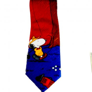Peanuts Snoopy Golf Men's Tie
