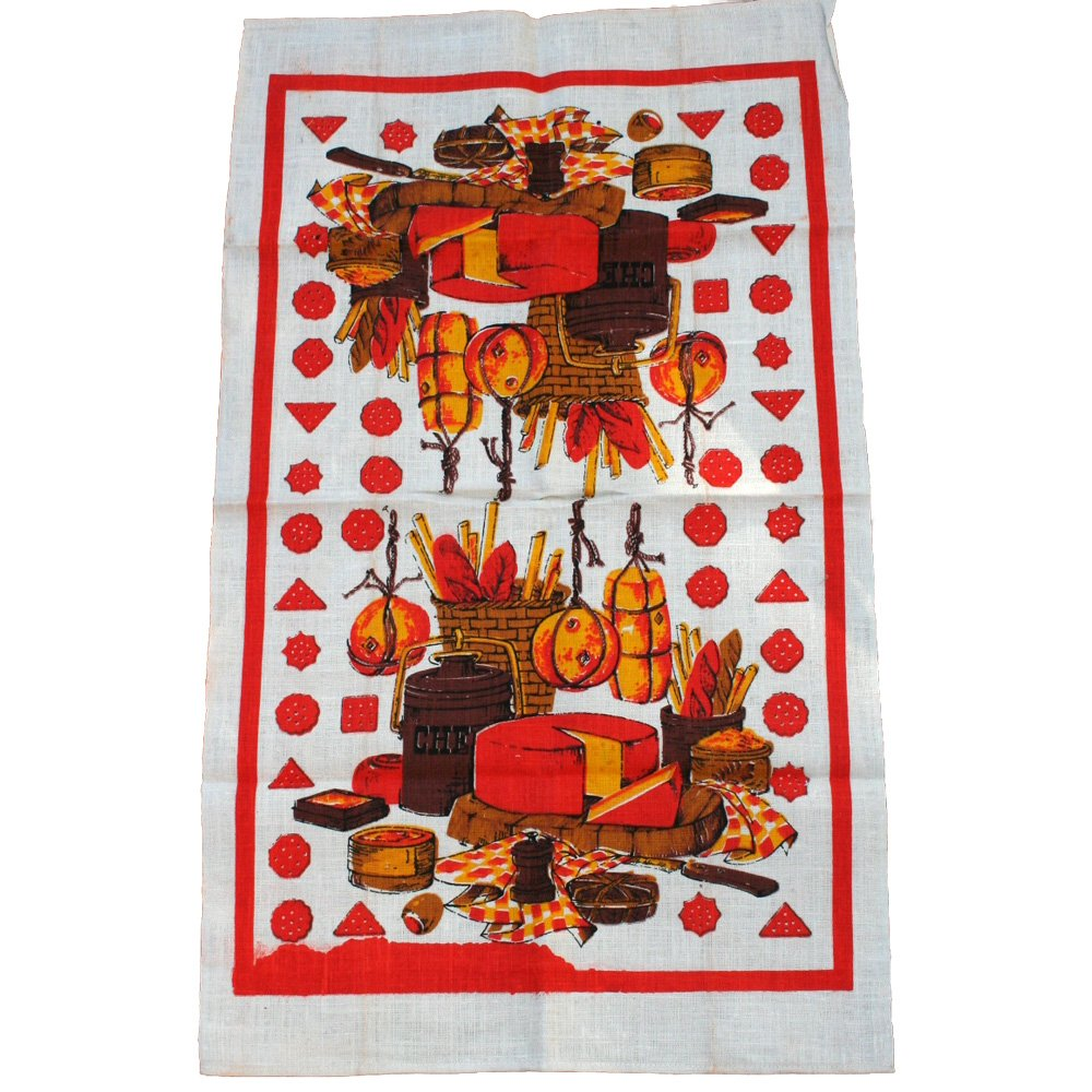 Cheeses Linen Commemorative Towel
