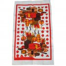 Cheeses Linen Commemorative Towel