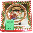 Enesco Lucy and Me Porcelain Collector Plate Christmas 1994