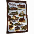 Suffolk Landmarks Made in Britain Clive Mayor Cotton Commemorative Towel