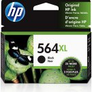 HP 564XL 2 ink Cartridges Black