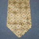 Prochownick Silk Tie Necktie Light Cream Tan Squares   C679 ~