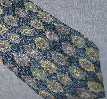 Bill Blass Lord & Taylor Blue Silk Tie Necktie  C121 ~