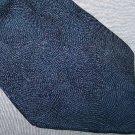Neo Bill Blass Blue Silk Tie Necktie K2 ~