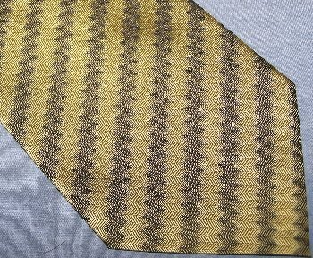Duomo Milano Diagonal Stripe Silk Tie Necktie C34 ~