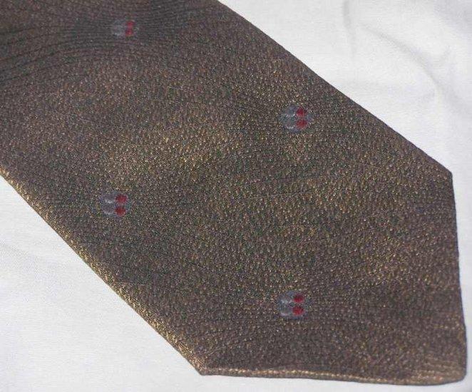 Armani Brown Silk Tie Necktie ~ C71 ~