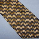 Polo University Ralph Lauren Blue Gold Silk Tie Necktie C143 ~
