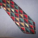 Karl Lagerfeld Bright Diamonds Silk Tie Necktie K1 ~