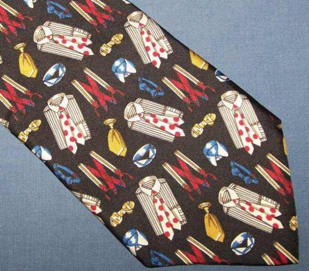 Andrew Scott Novelty Silk Tie Necktie Shirts Ties C18 ~