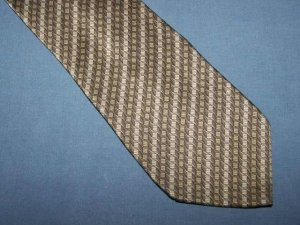 Arrow Gray Classic Silk Tie Necktie Diagonal Stripe Pattern C29 ~