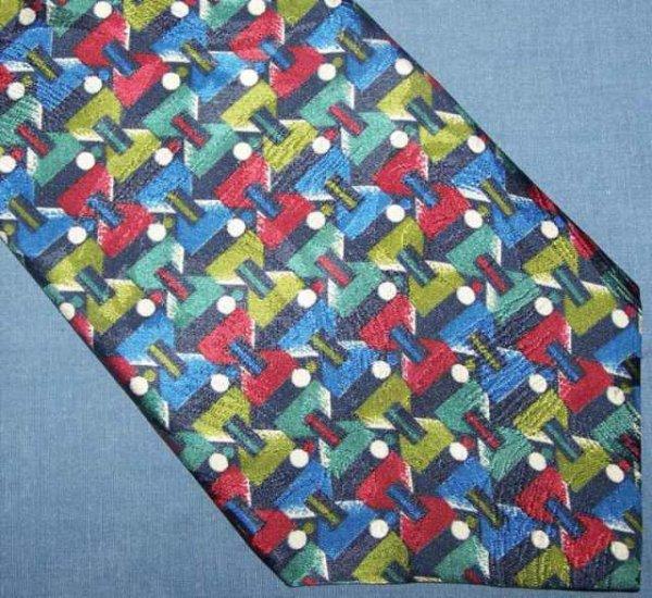 Barcelino Bold Silk Power Tie Necktie New NWT C85 ~