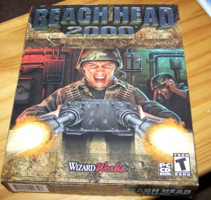 Beach Head 2000 Vintage PC Game in Box