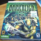Dark Reign 2 Vintage PC Game in Box