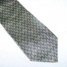 Blue and Green Dollar Sign Silk Tie Necktie