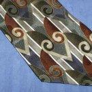 Martin Wong Free Form Hearts Tie Necktie