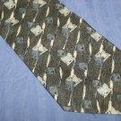 Conte di Milano Silk Tie Black