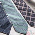 Lot of 3 Calvin Klein Ties Neckties  W100