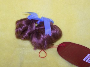 "Vintage Cheri's Collection Doll Wig Renee Auburn 4""-5"" Hair Macau"