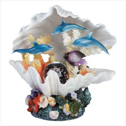 #34884 Magical Clam Shell Light