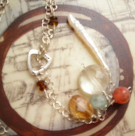Ocean on Fire Necklace
