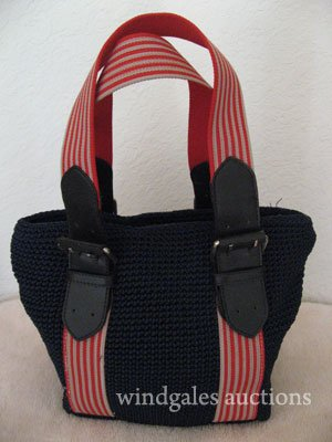 New Coldwater Creek Nautical Tote