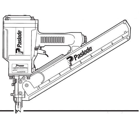 Paslode 5325 80 Framing Nailer O Ring 402011 Seal Kit
