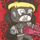 HAVOK from the XMEN Cartoon Sketch Card ACEO ATC