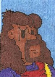 Bishop X-MEN sketch card atc aceo