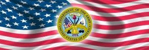 UNITED STATES ARMY & USA FLAG