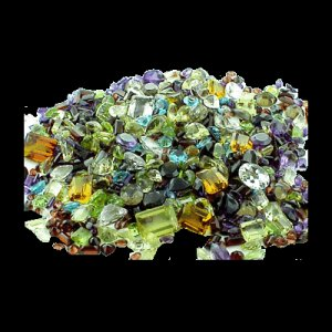 25 Cts twt. Mixed Lot Multicolor Gems Lot