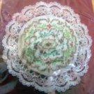 Christmas Beaded Cross Stitch Kit 2426 Golden Wreath Ornament